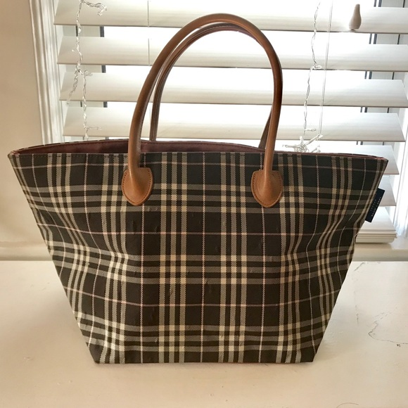 2a11214a77d Burberry Bags | Authentic London Blue Label Tote Bag | Poshmark